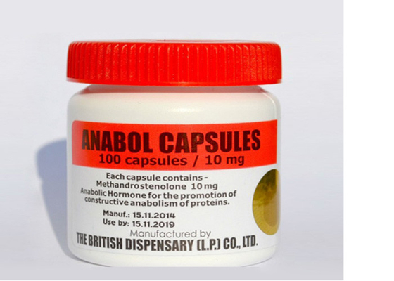 Anti - Counterfeit Custom Vial Labels Waterproof For Anabol Capsules